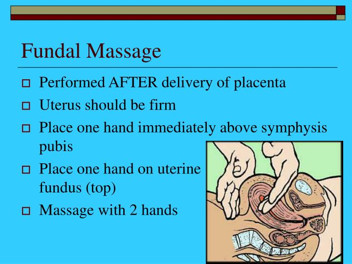 Fundal Massage