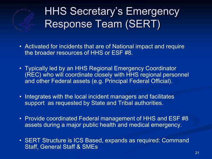 HHS Secretary