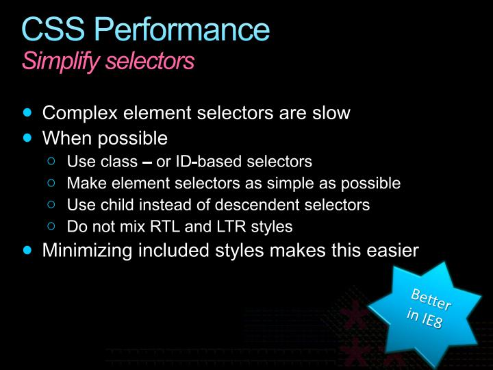 CSS Performance