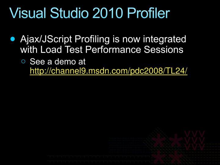 Visual Studio 2010 Profiler