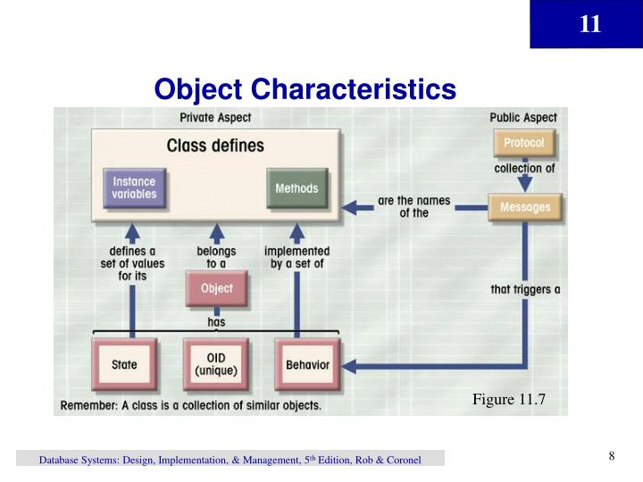 Object Characteristics