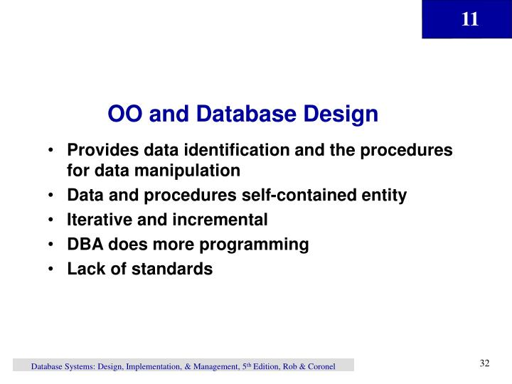 OO and Database Design