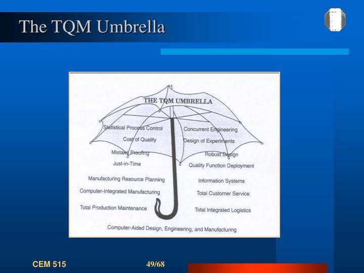 The TQM Umbrella