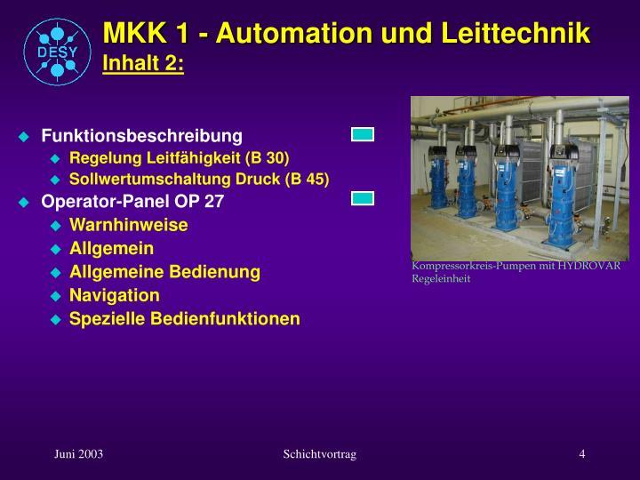 MKK 1 - Automation und Leittechnik