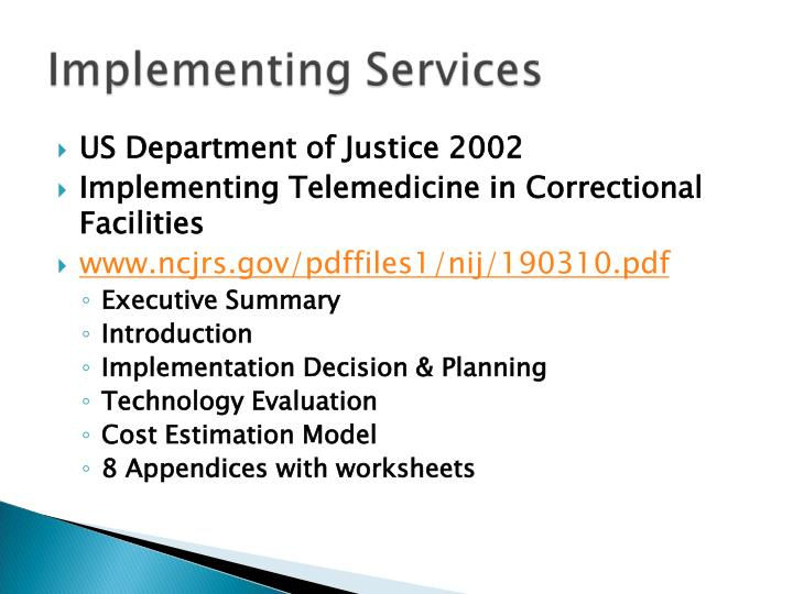 US Department of Justice 2002