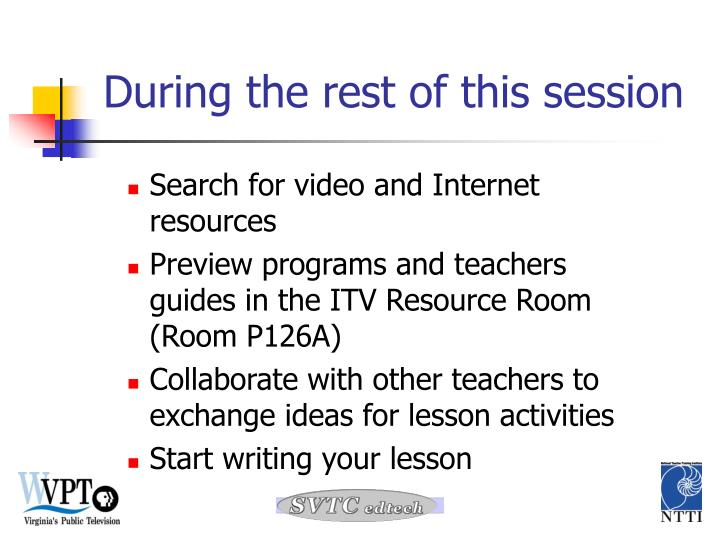 Search for video and Internet resources