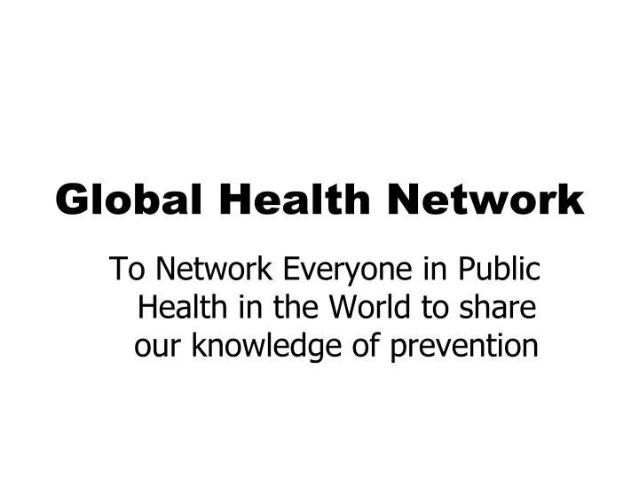 Global Health Network