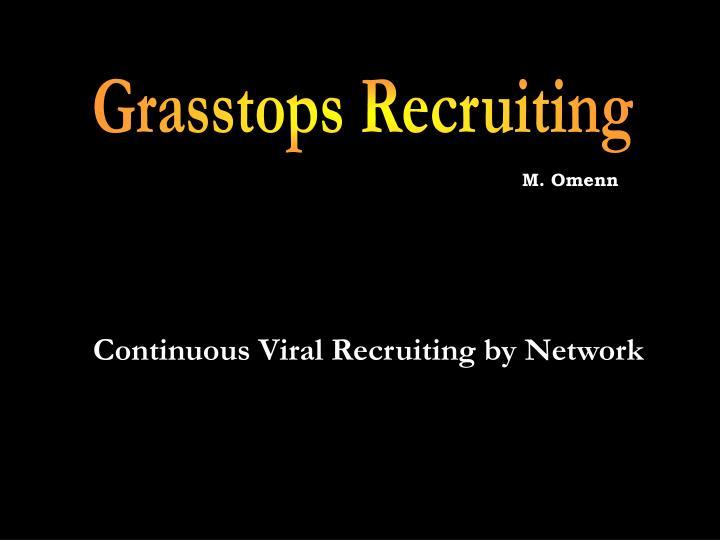 Grasstops Recruiting