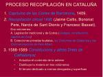 proceso recopilaci n en catalu a