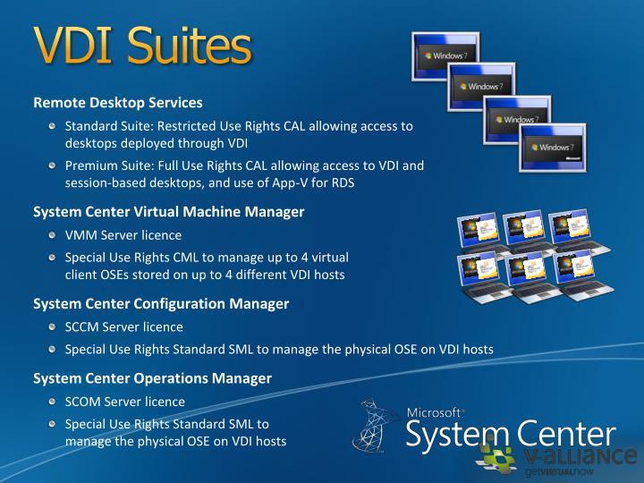 VDI Suites