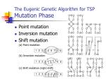 the eugenic genetic algorithm for tsp mutation phase