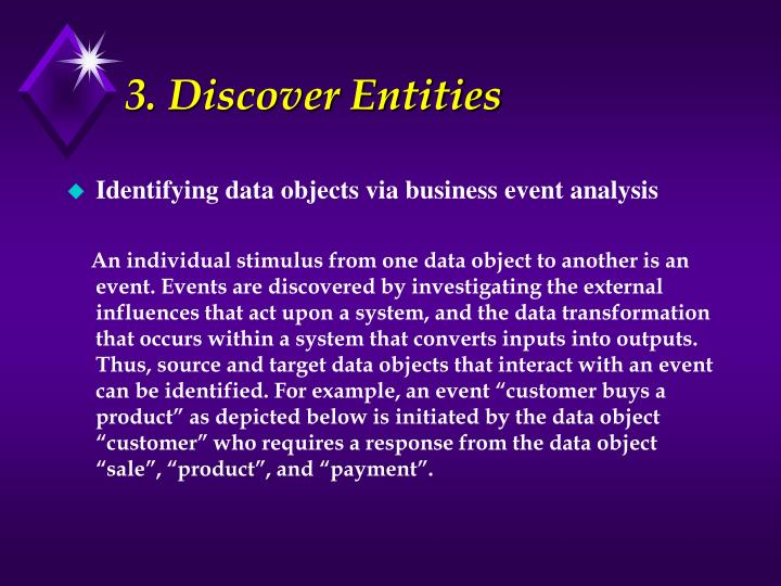 3. Discover Entities