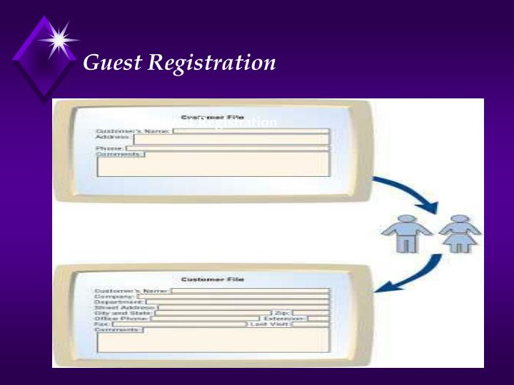 Guest Registration
