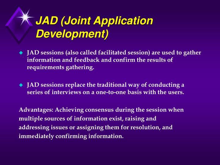 JAD (Joint Application Development)