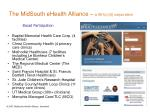 the midsouth ehealth alliance a 501 c 3 corporation