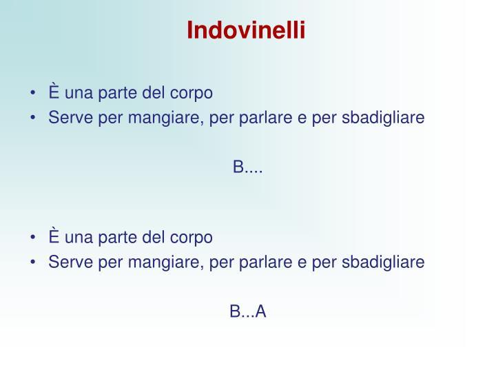 Indovinelli