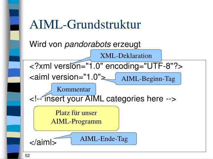 AIML-Grundstruktur