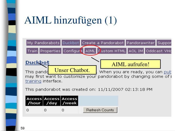 AIML hinzufügen (1)