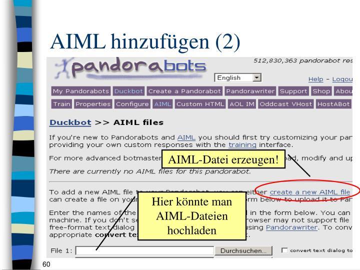 AIML hinzufügen (2)