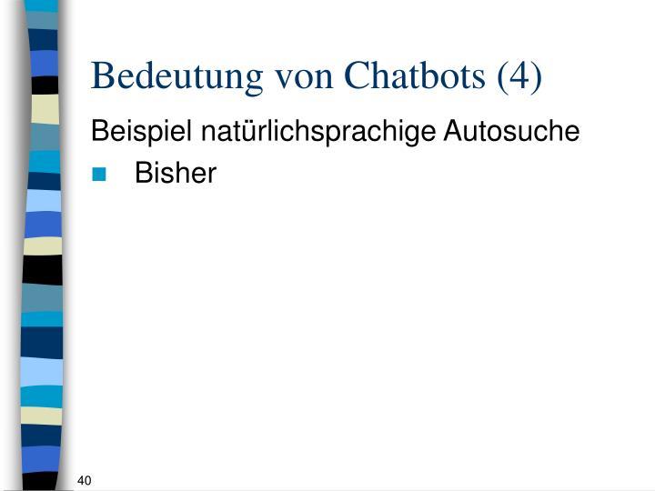 Bedeutung von Chatbots (4)