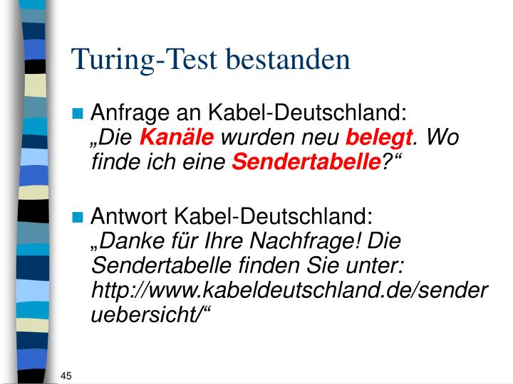 Turing-Test bestanden