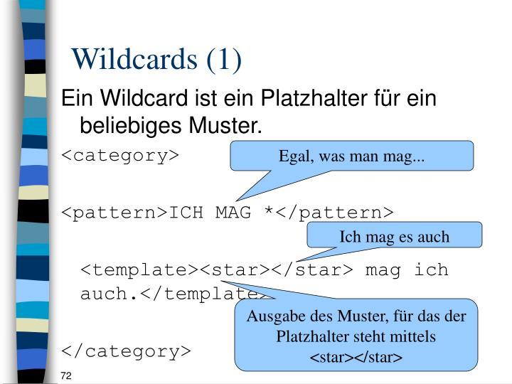 Wildcards (1)