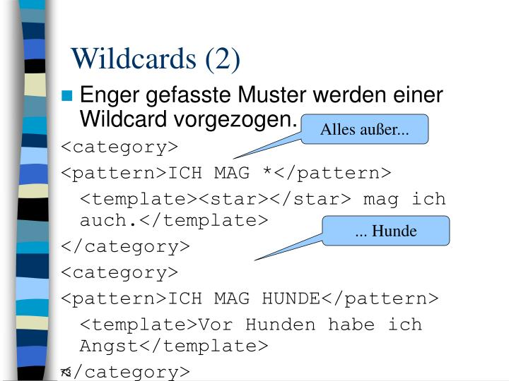 Wildcards (2)