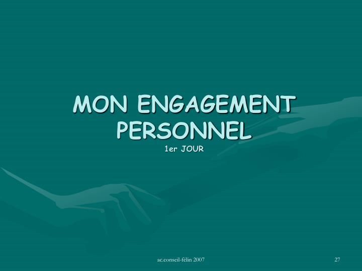 MON ENGAGEMENT PERSONNEL