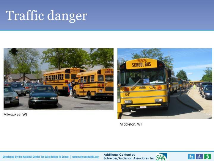 Traffic danger