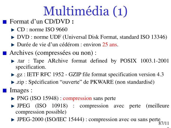 Multimédia (1)