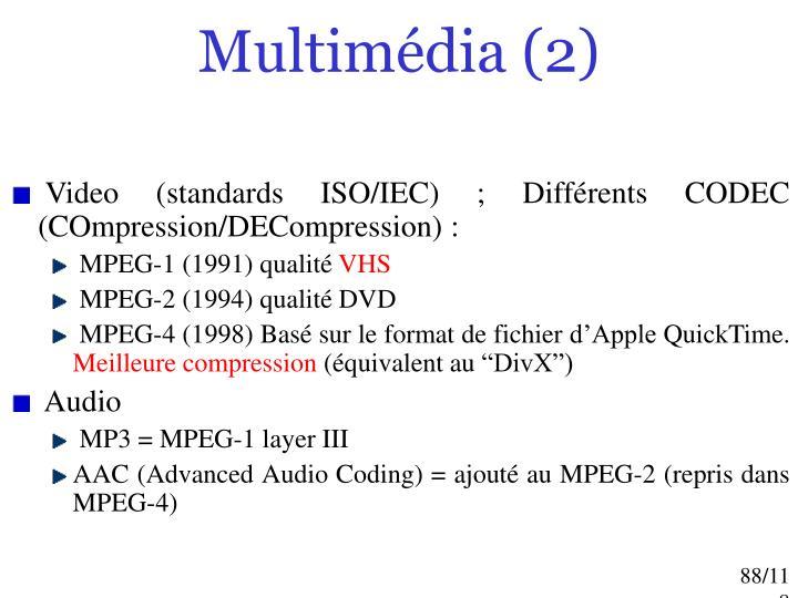 Multimédia (2)