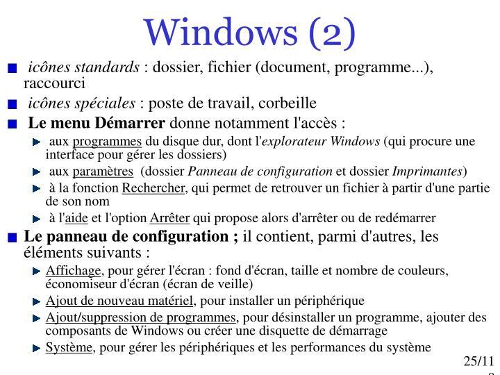 Windows (2)