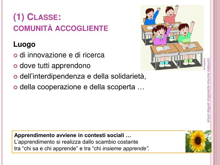 (1) Classe: