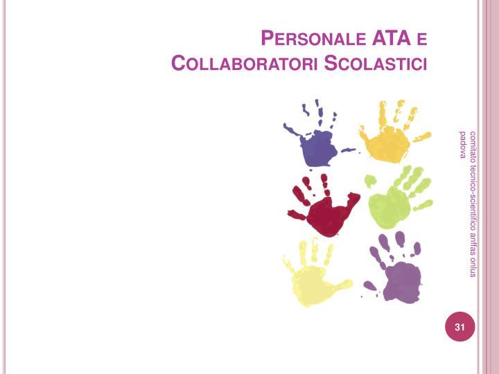 Personale ATA e