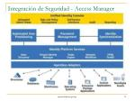 integraci n de seguridad access manager