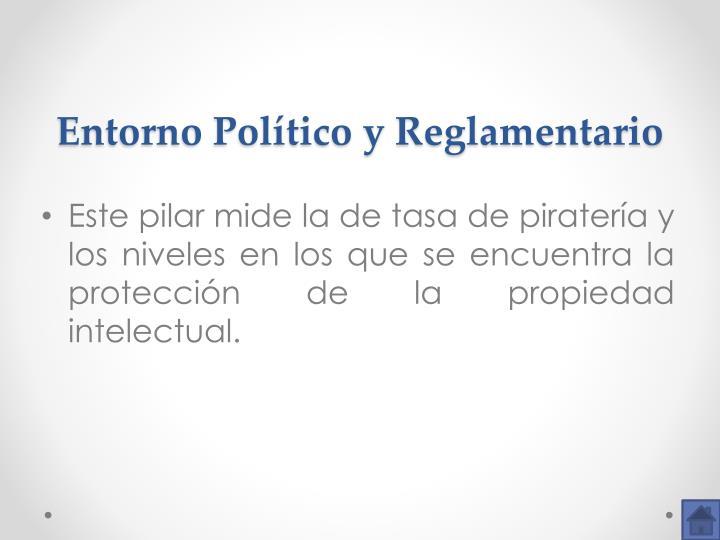Entorno Político y Reglamentario