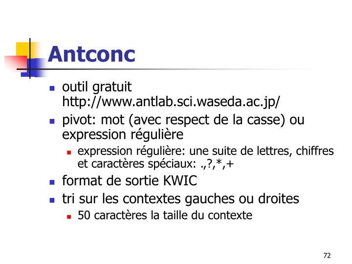 Antconc