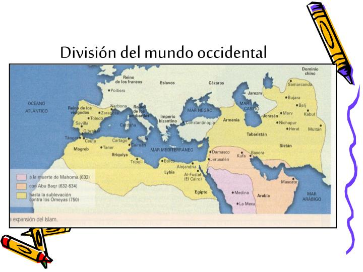 Divisi n del mundo occidental