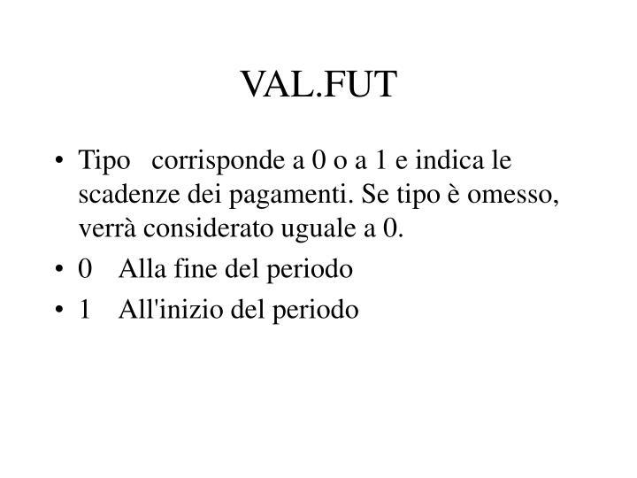 VAL.FUT