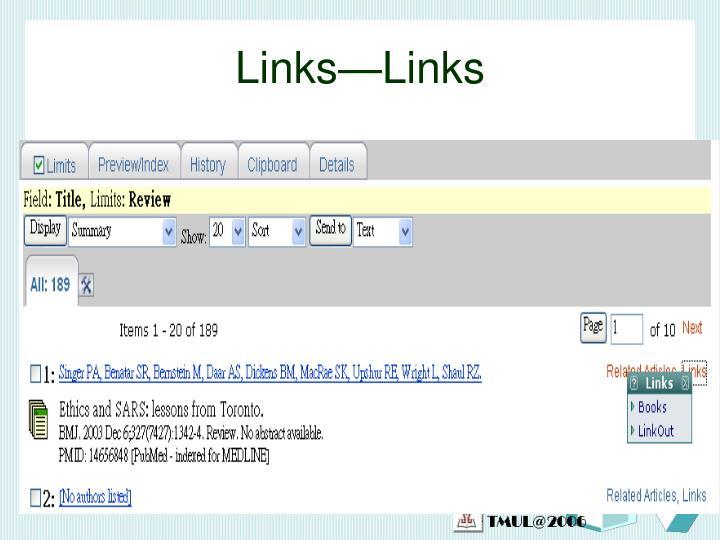 Links—Links