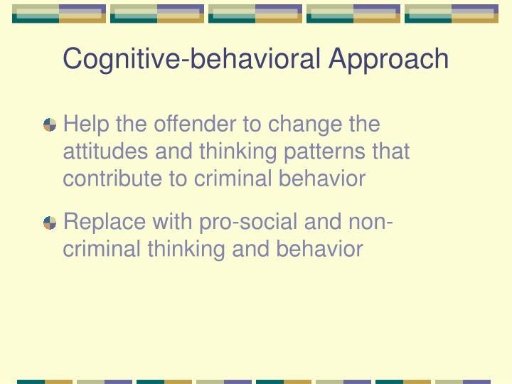 Cognitive-behavioral Approach