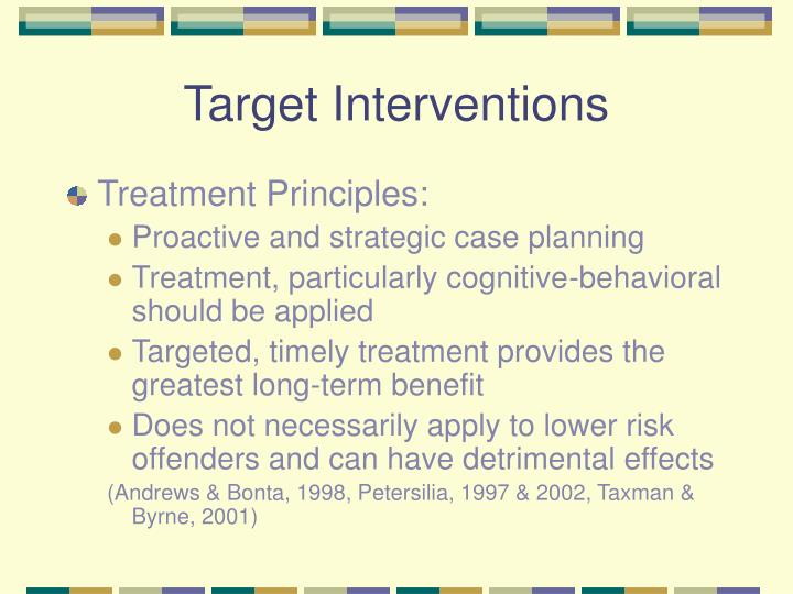 Target Interventions