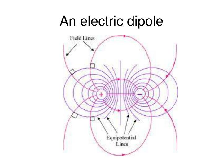An electric dipole