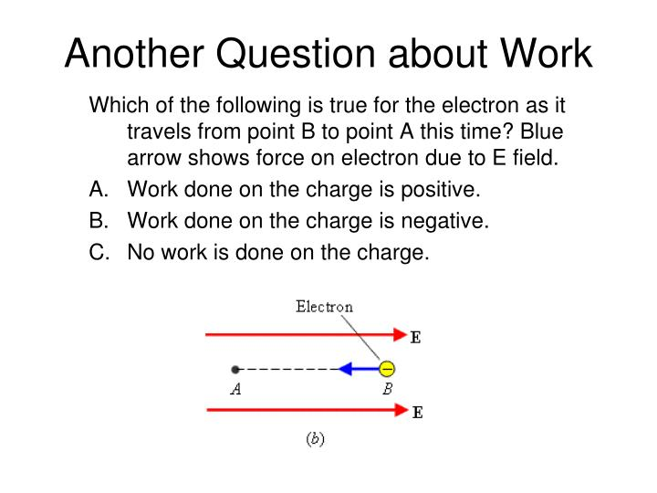 Another Question about Work