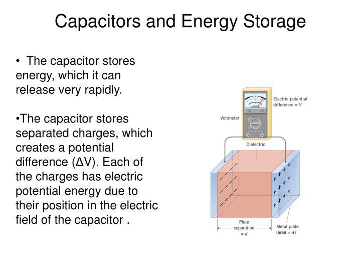Capacitors and Energy Storage