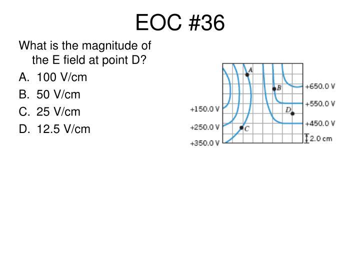 EOC #36