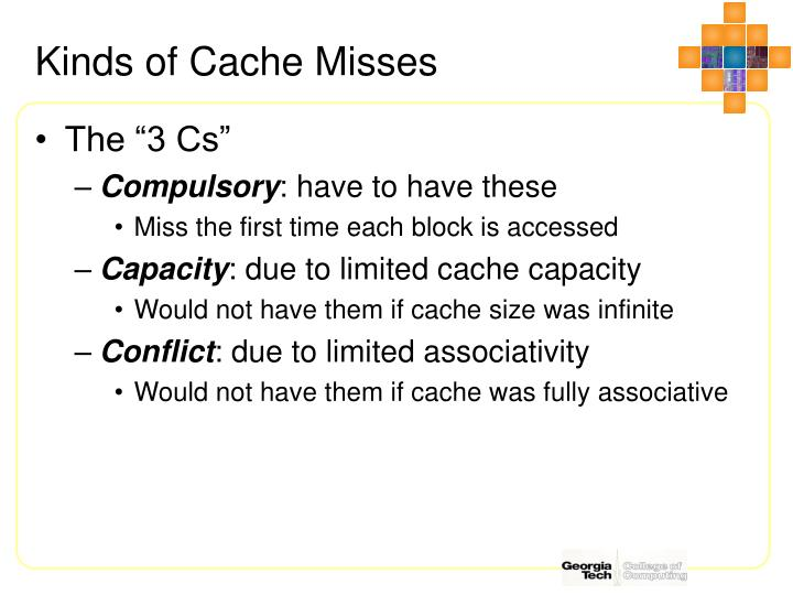 Kinds of Cache Misses