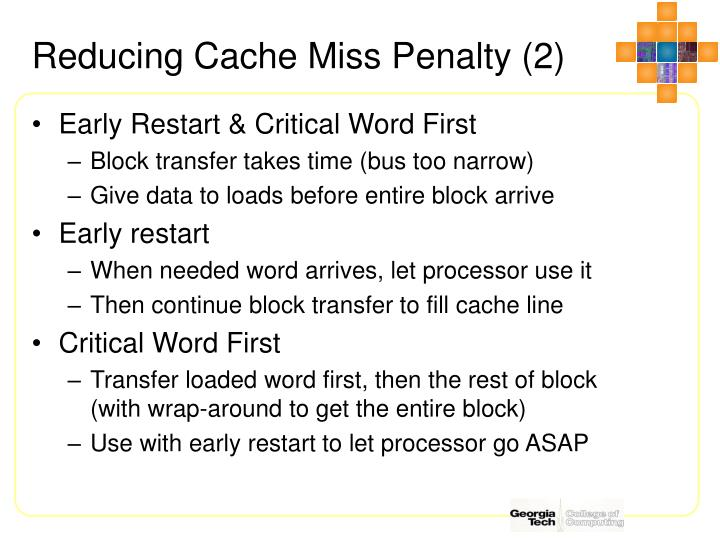 Reducing Cache Miss Penalty (2)