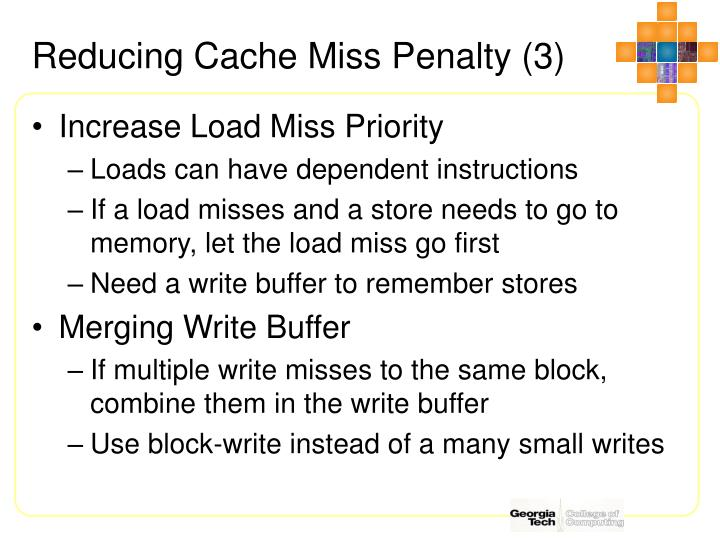 Reducing Cache Miss Penalty (3)