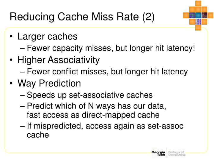 Reducing Cache Miss Rate (2)